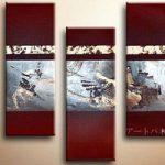 アートパネル 『遺跡』 30x80cm x 3枚組