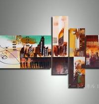 アートパネル 『都市』 4枚組