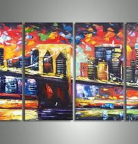 アートパネル 『都市Ⅲ』 30x60cm x 4枚組