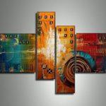 アートパネル 『機械と文明』 40x60cm、2枚他、計4枚組