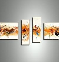 アートパネル 『閃き』 20x50cm、2枚他、計4枚組