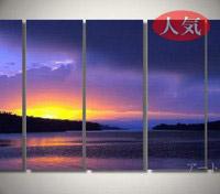 アートパネル 『暁』 30x70cm、5枚組