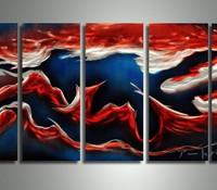 アートパネル 『鯉Ⅱ』 30x60cm、5枚組