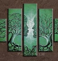 アートパネル 『運命Ⅱ』 25x70cm x 2枚他、計5枚組