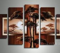 アートパネル 『松Ⅱ』 30x60cm x 2枚他、計5枚組