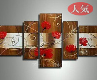 アートパネル 『薔薇のある情景』 40x90cm x 1枚他、計5枚組