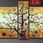 アートパネル 『生命の樹へのオマージュⅡ』  5枚組