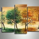 アートパネル 『四季の移ろい』 45x60cm、2枚他、計5枚組