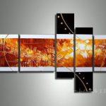 アートパネル 『エナジー』 25x60cm x 2枚他、計5枚組