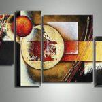 アートパネル 『球と角』 30x40cm、2枚他、計4枚組