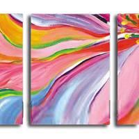アートパネル 『多彩』 40x60cm、3枚組