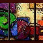 アートパネル 『アナログ』 40x60cm x 3枚組