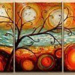 アートパネル 『踊る木Ⅱ』 40x60cm x 3枚組
