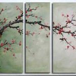 アートパネル 『梅の木』 30x90cm x 5枚組