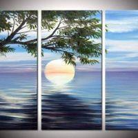 アートパネル 『朝日』 30x60cm x 3枚組