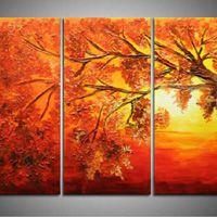 アートパネル 『紅葉』 30x60cm x 3枚組
