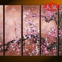 アートパネル 『桜の木』 30x90cm x 5枚組