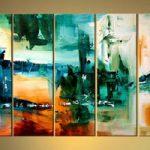 アートパネル 『抽象』 30x90cm x 5枚組