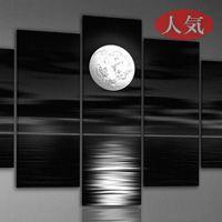 アートパネル 『満月』 30x50cm x 2枚組他、計5枚