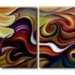 アートパネル 『抽象的、グラフィティ的』 40x60cm x 4枚組