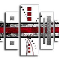 アートパネル 『ホワイト・ブロック』 30x50cm x 2枚他、計5枚組