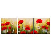 アートパネル 『花びらⅥ』 40x40cm x 3枚組