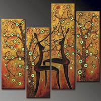 アートパネル 『生命の木の果実』 4枚組