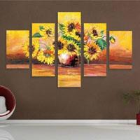 アートパネル 『向日葵』 30x50cm x 2枚他、計5枚組