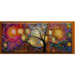 アートパネル 『踊る木』 40x60cm x 3枚組