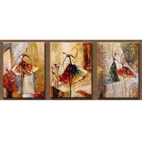アートパネル 『バレエⅡ』 40x60cm x 3枚組
