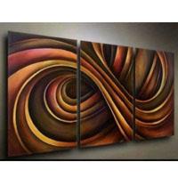 アートパネル 『螺旋』 40x50cm、3枚組