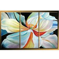アートパネル 『花びら』 30x60cm x 3枚