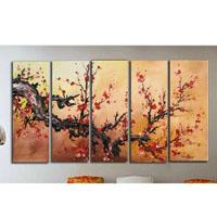 アートパネル 『梅の木?』 30x90cm x 5枚組