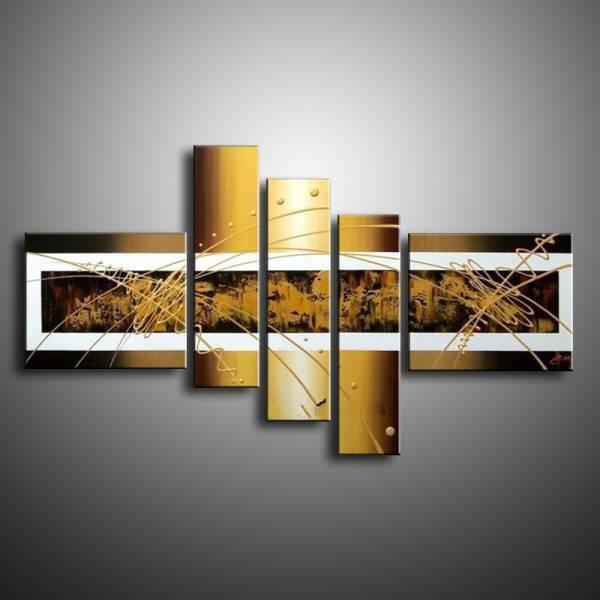 アートパネル 『ゴージャス・ゴールド』 30x40cm他、計5枚組