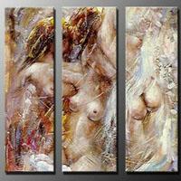 アートパネル 『裸体』 30x90cm x 3枚組