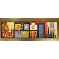 アートパネル 『ファンタジック』 50x50cm x 4枚組
