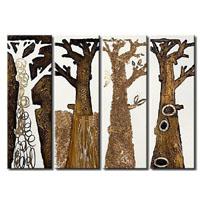 アートパネル 『枯れ木Ⅲ』 25x70cm x 4枚組