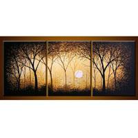 アートパネル 『森の夕焼け』 30x40cm x 3枚組