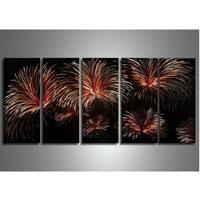 アートパネル 『花火』 30x60cm、5枚組