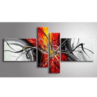 アートパネル 『再生』 20x80cm、2枚他、計4枚組