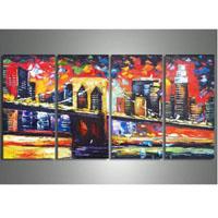 アートパネル 『都市?』 30x60cm x 4枚組