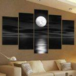 アートパネル 『満月』 30x50cm x 2枚組他、計5枚組