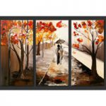 アートパネル 『並木道』 35x70cm x 3枚組