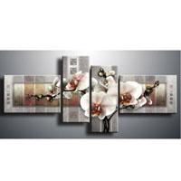 アートパネル 『胡蝶蘭』 30x80cm、2枚他、計4枚組