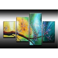 アートパネル 『色彩のある花びら』  計4枚組