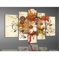 アートパネル 『白菊Ⅱ』 25x40cm x 2枚他、計5枚組