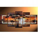アートパネル 『夜明け・アフリカ』 5枚組
