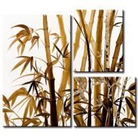 アートパネル 『竹Ⅱ』 30x40cm x 2枚他、計3枚組