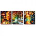 アートパネル 『並木道Ⅳ』 50x60cm x 3枚組