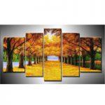 アートパネル 『並木道Ⅲ』 30x50cm x 2枚他、計5枚組